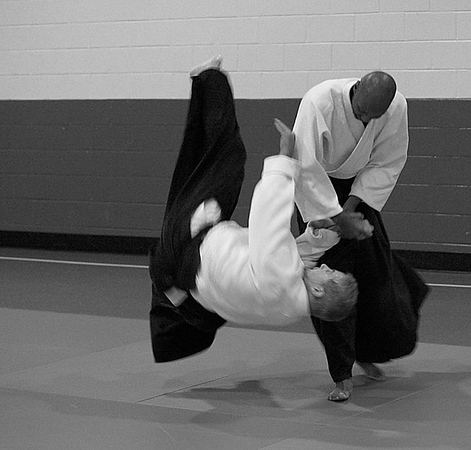 Faust Sensei at Potomac Aikikai - January 6, 2007